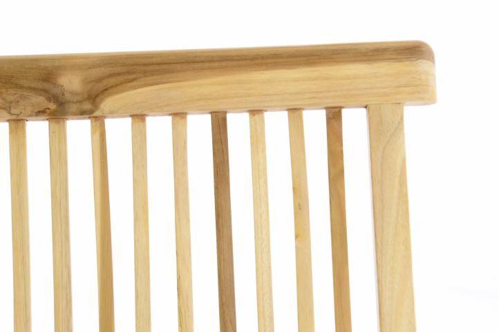 Összecsukható szék tíkfából Gardenay
