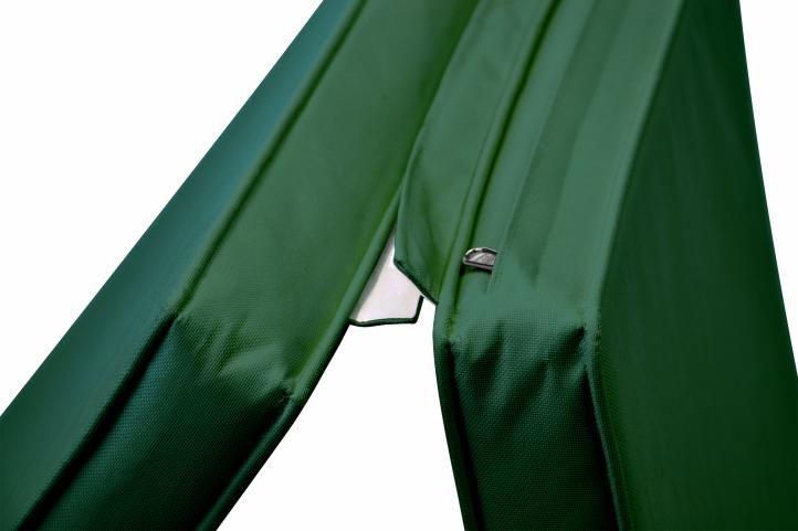 Párna nyugágyhoz DIVERO 188 cm - sötét zöld