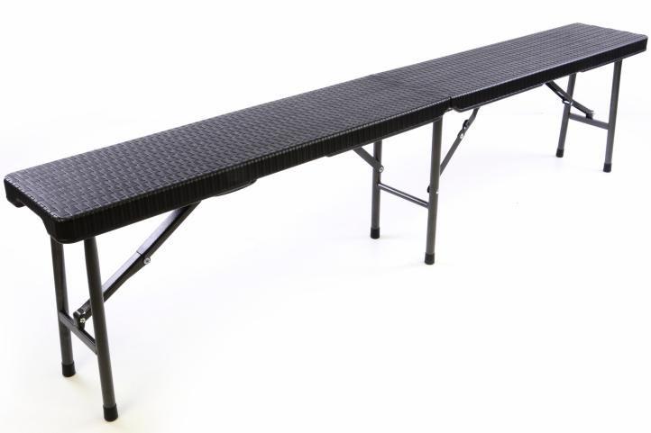 Kemping pad összecsukható GARTHEN - 180 cm