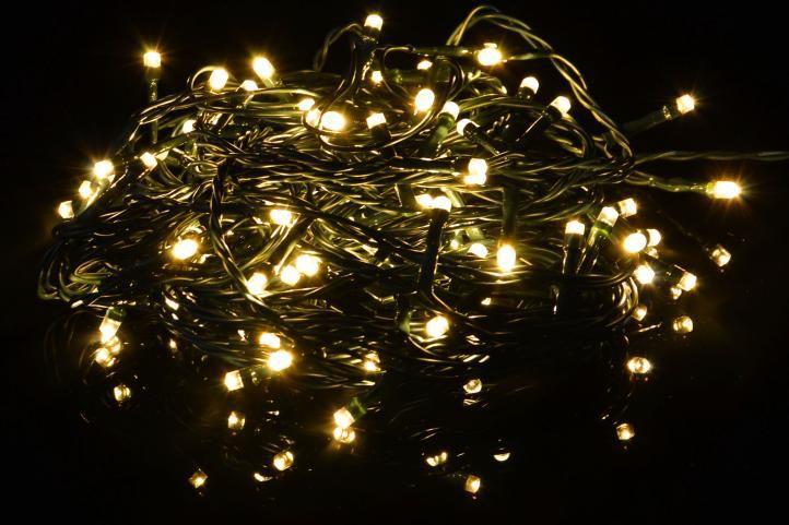 Karácsonyi fényfüzér 200 LED - 9 villogó funkció, színváltó - 19,9 m