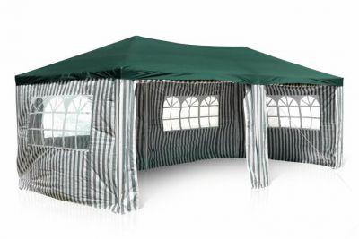 Kerti parti sátor – 3 x 6 m, zöld