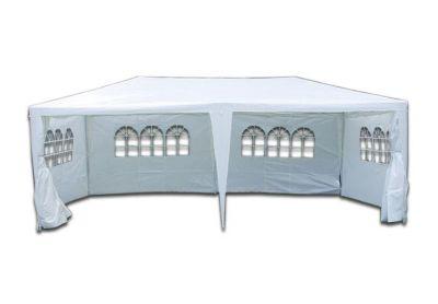 Kerti party sátor GARTHEN – 3 x 6 m, fehér