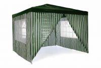 Kerti sátor 3 x 3 m - sötétzöld