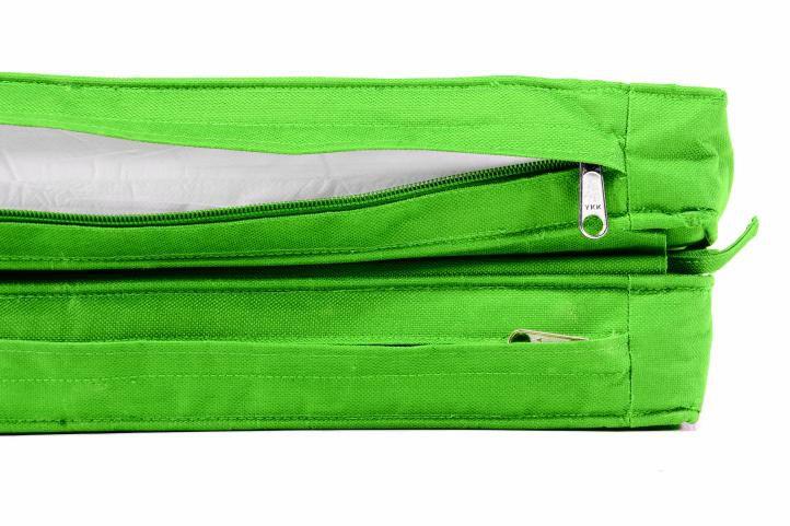 Párna nyugágyhoz DIVERO 180 cm - világos zöld