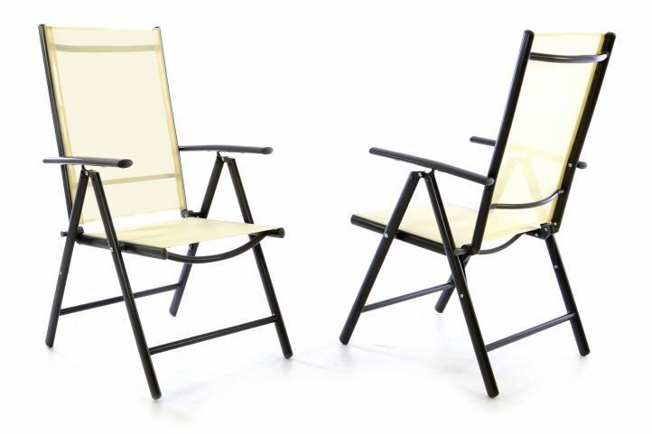 Kerti székek GARTH 2 db - bézs