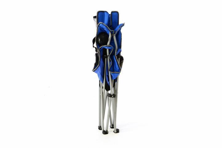 Kerti szék GARTHEN - kék/fekete