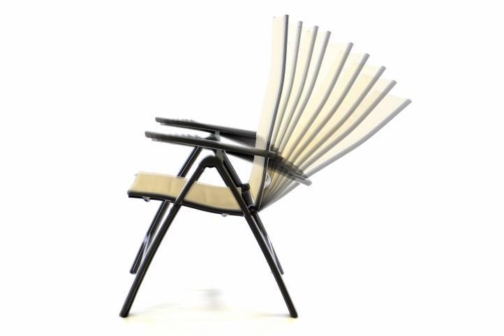 Kerti székek DELUXE 2 db - bézs