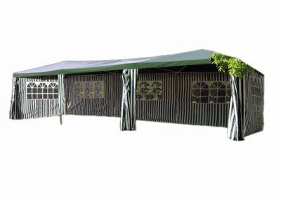 Kerti sátor GARTHEN – zöld, 3 x 9 m