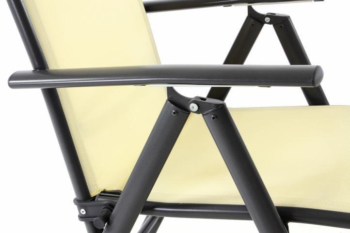Kerti szék RELAX 2 db - bézs