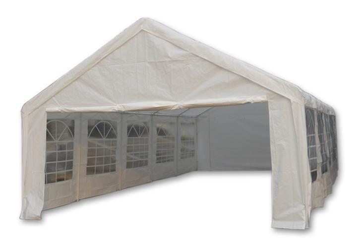 Kerti pavilon GARTHEN 5 x 10 m - fehér