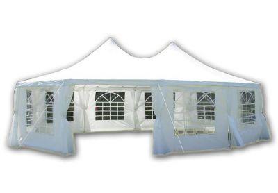 Kerti sátor – fehér, 8,9 x 6,5 m