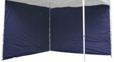 Két oldalfal PROFI kerti sátorhoz 3 x 3 m - kék