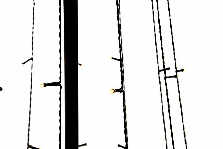 Fénykúp NEXOS - 240 cm, meleg fehér