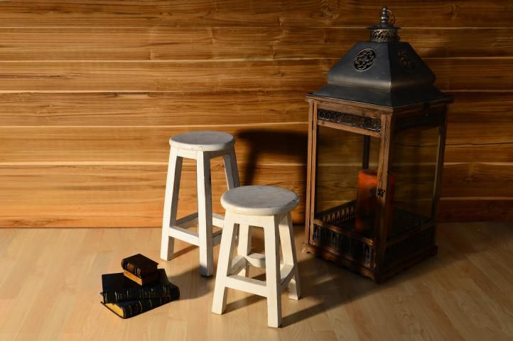 Kerti szék VINTAGE DIVERO - 40 cm