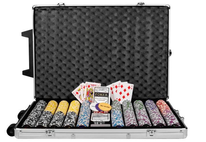 Póker zseton készlet OCEAN trolley - 1000 db