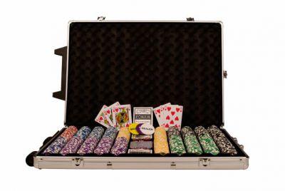Póker zseton készlet OCEAN Champion trolley - 1000 db