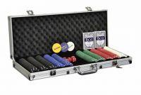 Póker készlet, 500 db-os zseton + kiegészítők