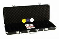 Alu bőrönd 500 db pókerzsetonhoz + kiegészítők