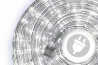 LED fénykábel 10 m - hideg fehér, 240 dióda