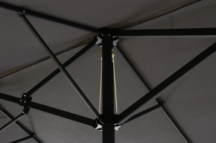 Napernyő XXL GARTHEN 4,5 m - antracit