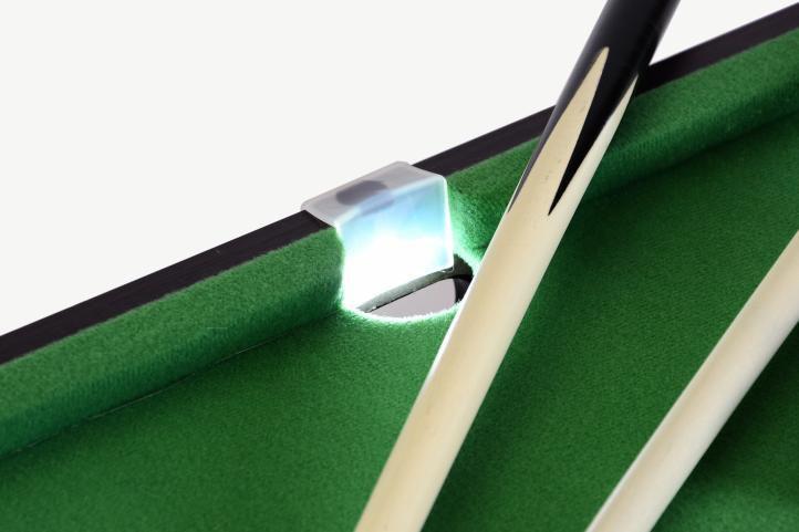 Mini pool biliárd felszereléssel 51 x 31 x 10 cm - LED