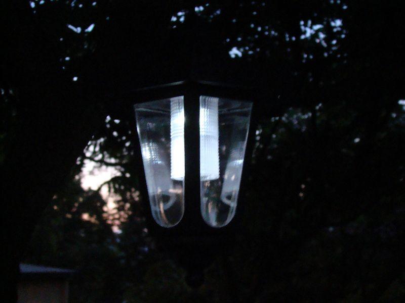 Kerti szoláris LED lámpás készlet, 3 db