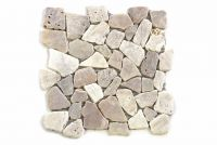 Mozaik Garth, burkolat - folyami kőzet