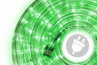 Fénykábel NEXOS 10m/2400x LED - zöld