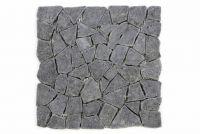 Andezit mozaik Garth, burkolat - sötétszürke