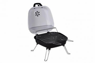 Faszenes hordozható grillsütő Garth - fehér