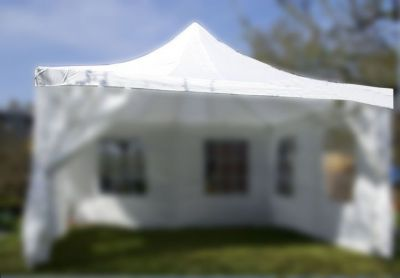 Póttető kerti sátorhoz 4 x 4 m fehér