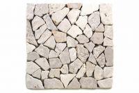Márvány mozaik Garth - fehér, 1 m2
