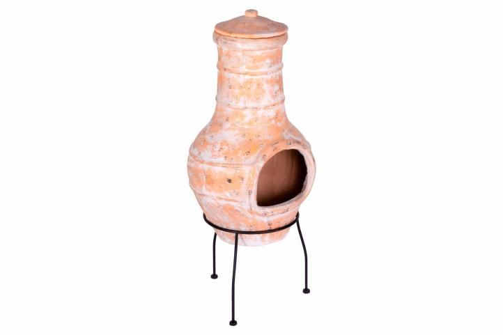 Kerti terrakotta kemence LERMA  - 85 cm