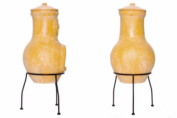 Kerti terrakotta kemence YAQUI - 77 cm