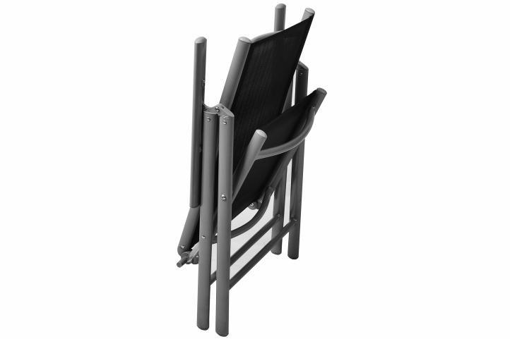 Összecsukható kerti szék készlet, 2 db