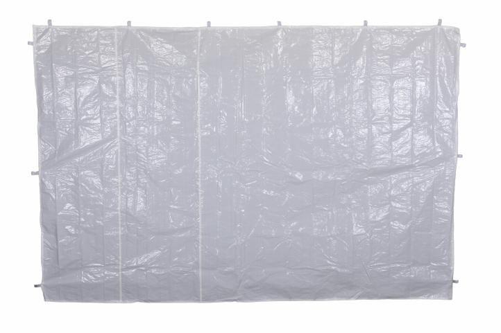 Két oldalfal kerti sátorhoz - fehér/ablak nélkül