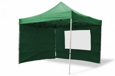Összecsukható kerti sátor PROFI 3 x 3 m - zöld