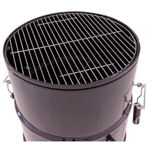 Kerti grillsütő BBQ - faszenes