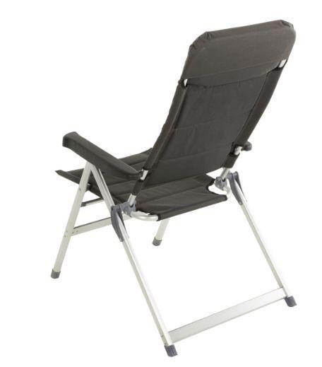 Kerti szék összecsukható - fekete