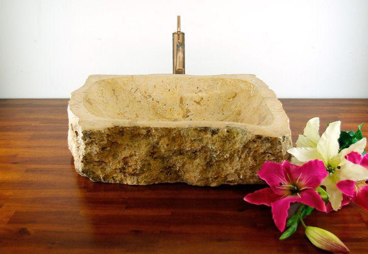 Mosdókagyló természetes kőből - SAVONA