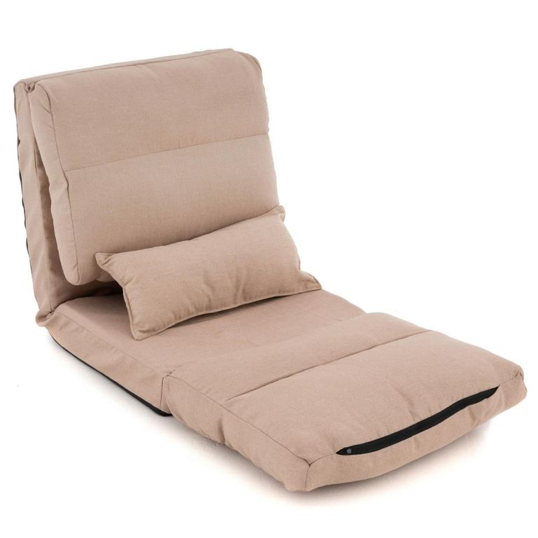 TV fotel DIVERO Relax Lounger Cream
