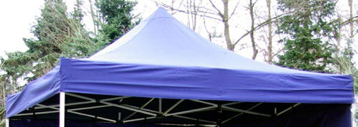 PROFI póttető kerti összecsukható sátorhoz 3 x 3 m - kék