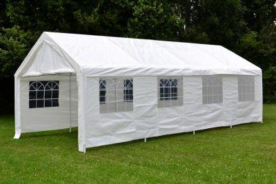 Kerti party sátor - fehér, 4 x 8 m