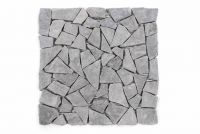 Mozaik burkolat DIVERO® 1m2 - márvány, szürke