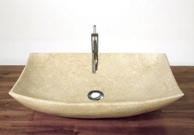 Márvány mosdó - csiszolt márvány
