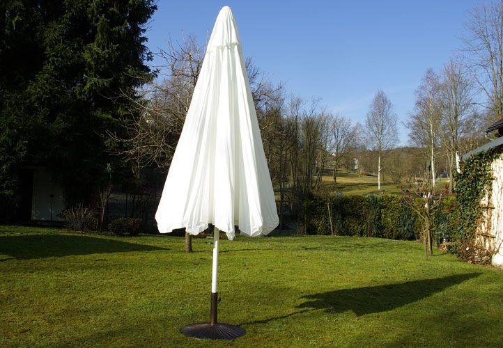 Napernyő forgatókarral GARTH - fehér, 4 m