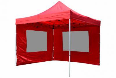 Összecsukható kerti sátor PROFI 3 x 3 m - piros