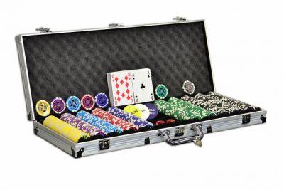 Póker készlet ULTIMATE design - 500 db zseton