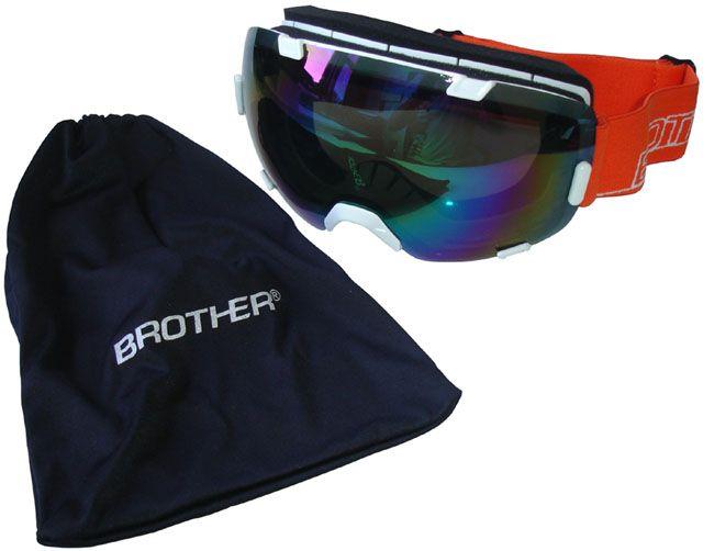 4ec125cb11 Sí szemüveg nagy lencsével B298 - fehér