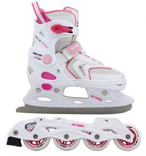 Női korcsolya cserélhető alvázzal - mér. 37 - 40